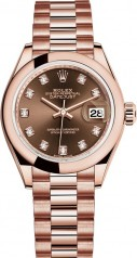 Rolex » Datejust » Datejust 28 mm Everose Gold » 279165-0015
