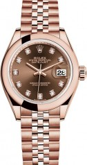 Rolex » Datejust » Datejust 28 mm Everose Gold » 279165-0016