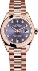 Rolex » Datejust » Datejust 28 mm Everose Gold » 279165-0019