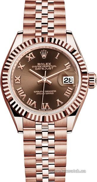 Rolex » Datejust » Datejust 28 mm Everose Gold » 279175-0015