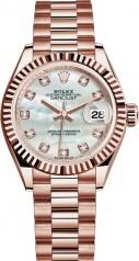 Rolex » Datejust » Datejust 28 mm Everose Gold » 279175-0017