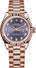 Rolex » Datejust » Datejust 28 mm Everose Gold » 279175-0019