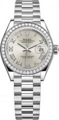 Rolex » Datejust » Datejust 28 mm Platinum » 279136rbr-0007