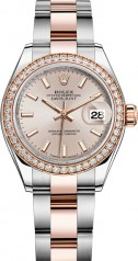 Rolex » Datejust » Datejust 28 mm Steel and Everose Gold » 279381rbr-0002