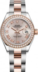 Rolex » Datejust » Datejust 28 mm Steel and Everose Gold » 279381rbr-0006