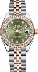 Rolex » Datejust » Datejust 28 mm Steel and Everose Gold » 279381rbr-0007
