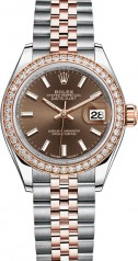 Rolex » Datejust » Datejust 28 mm Steel and Everose Gold » 279381rbr-0017