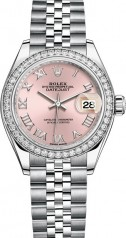 Rolex » Datejust » Datejust 28 mm Steel and White Gold » 279384rbr-0005