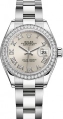 Rolex » Datejust » Datejust 28 mm Steel and White Gold » 279384rbr-0010