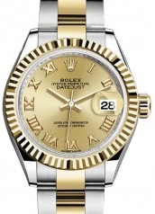 Rolex » Datejust » Datejust 28 mm Steel and Yellow Gold » 279173-0010
