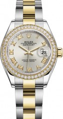 Rolex » Datejust » Datejust 28 mm Steel and Yellow Gold » 279383rbr-0006
