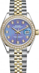 Rolex » Datejust » Datejust 28 mm Steel and Yellow Gold » 279383rbr-0015