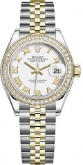 Rolex » Datejust » Datejust 28 mm Steel and Yellow Gold » 279383rbr-0023