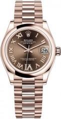 Rolex » Datejust » Datejust 31mm Everose Gold » 278245-0024