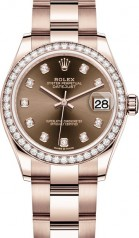 Rolex » Datejust » Datejust 31mm Everose Gold » 278285rbr-0012