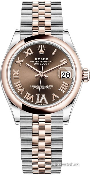 Rolex » Datejust » Datejust 31mm Steel and Everose Gold » 278241-0004