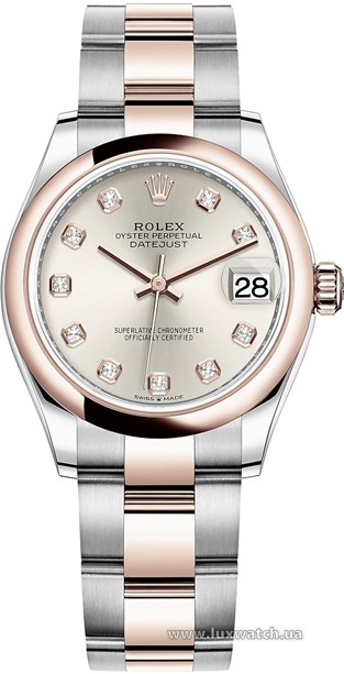 Rolex » Datejust » Datejust 31mm Steel and Everose Gold » 278241-0015