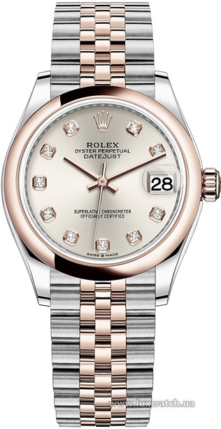 Rolex » Datejust » Datejust 31mm Steel and Everose Gold » 278241-0016