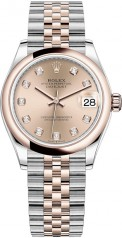 Rolex » Datejust » Datejust 31mm Steel and Everose Gold » 278241-0024