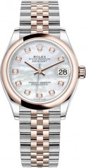 Rolex » Datejust » Datejust 31mm Steel and Everose Gold » 278241-0026