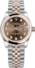 Rolex » Datejust » Datejust 31mm Steel and Everose Gold » 278241-0028