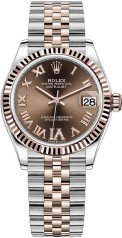 Rolex » Datejust » Datejust 31mm Steel and Everose Gold » 278271-0004