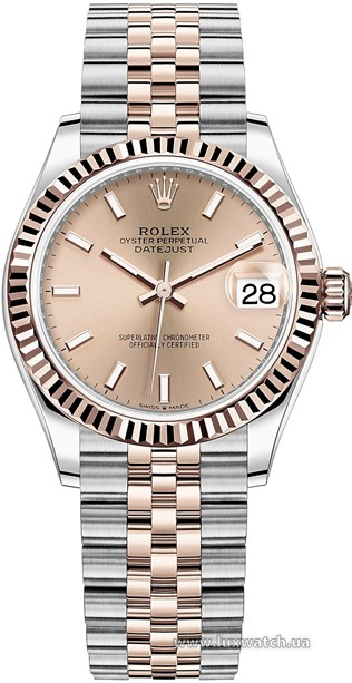 Rolex » Datejust » Datejust 31mm Steel and Everose Gold » 278271-0010