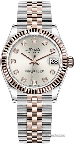 Rolex » Datejust » Datejust 31mm Steel and Everose Gold » 278271-0016