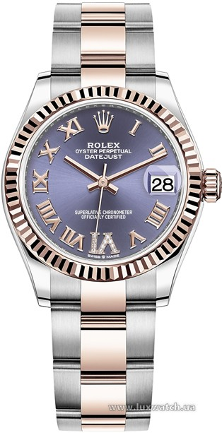 Rolex » Datejust » Datejust 31mm Steel and Everose Gold » 278271-0019