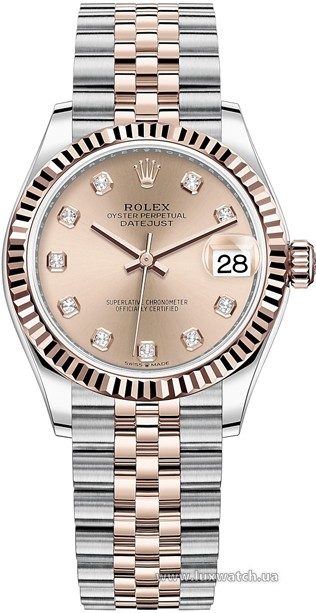 Rolex » Datejust » Datejust 31mm Steel and Everose Gold » 278271-0024