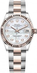 Rolex » Datejust » Datejust 31mm Steel and Everose Gold » 278271-0025