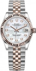 Rolex » Datejust » Datejust 31mm Steel and Everose Gold » 278271-0026