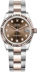 Rolex » Datejust » Datejust 31mm Steel and Everose Gold » 278271-0027