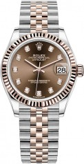 Rolex » Datejust » Datejust 31mm Steel and Everose Gold » 278271-0028