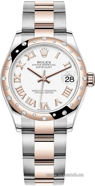 Rolex » Datejust » Datejust 31mm Steel and Everose Gold » 278341rbr-0001