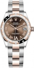 Rolex » Datejust » Datejust 31mm Steel and Everose Gold » 278341rbr-0003