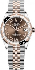 Rolex » Datejust » Datejust 31mm Steel and Everose Gold » 278341rbr-0004