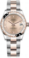 Rolex » Datejust » Datejust 31mm Steel and Everose Gold » 278341rbr-0005