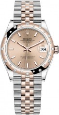 Rolex » Datejust » Datejust 31mm Steel and Everose Gold » 278341rbr-0010