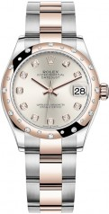 Rolex » Datejust » Datejust 31mm Steel and Everose Gold » 278341rbr-0015