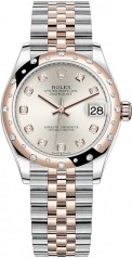 Rolex » Datejust » Datejust 31mm Steel and Everose Gold » 278341rbr-0016