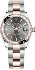 Rolex » Datejust » Datejust 31mm Steel and Everose Gold » 278341rbr-0017