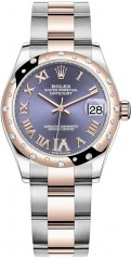 Rolex » Datejust » Datejust 31mm Steel and Everose Gold » 278341rbr-0019