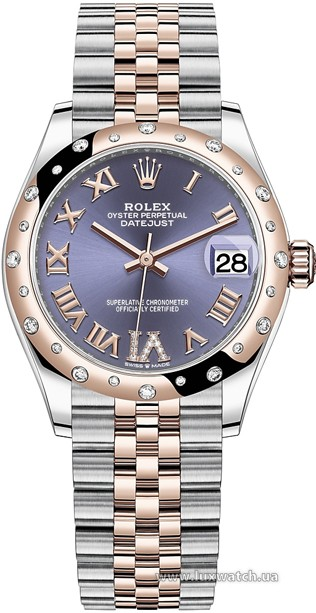 Rolex » Datejust » Datejust 31mm Steel and Everose Gold » 278341rbr-0020