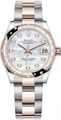 Rolex » Datejust » Datejust 31mm Steel and Everose Gold » 278341rbr-0025