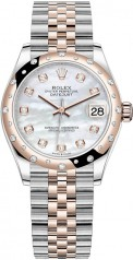 Rolex » Datejust » Datejust 31mm Steel and Everose Gold » 278341rbr-0026