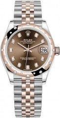 Rolex » Datejust » Datejust 31mm Steel and Everose Gold » 278341rbr-0028