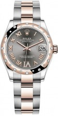 Rolex » Datejust » Datejust 31mm Steel and Everose Gold » 278341rbr-0029