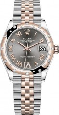 Rolex » Datejust » Datejust 31mm Steel and Everose Gold » 278341rbr-0030