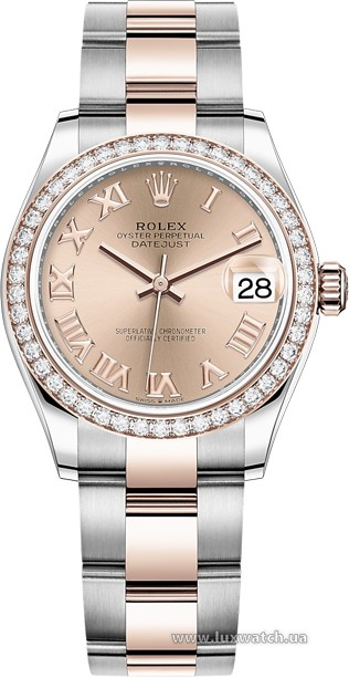 Rolex » Datejust » Datejust 31mm Steel and Everose Gold » 278381rbr-0001